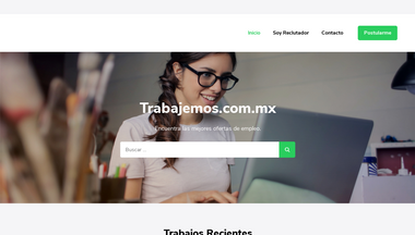 trabajemos.com.mx Screenshot