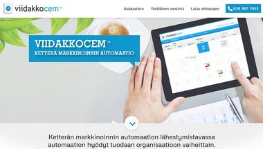 marketingautomation.fi Screenshot