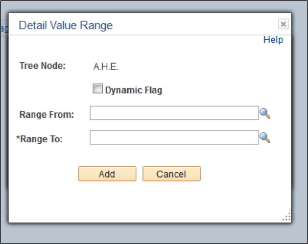 Detail Range Value Page
