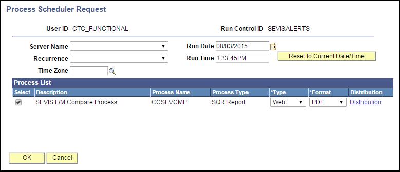 Process Scheduler Requests