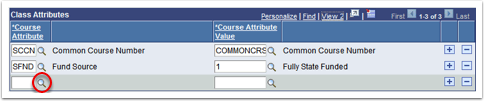 Class Attributes Section