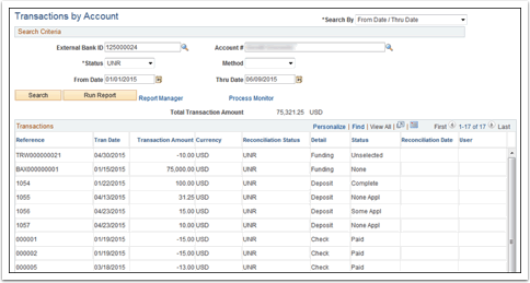 Transactions by Acvcount page