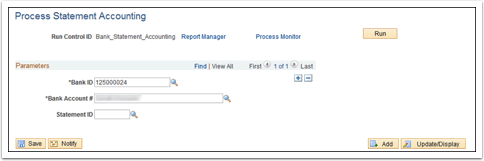 Process Statement Accounting