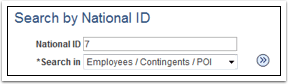 Search by National ID