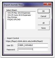 Import Journals Now