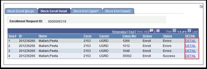 Block Enroll Merge