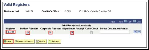 Valid Registers