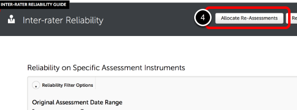 Step 2: Allocate Re-Assessments
