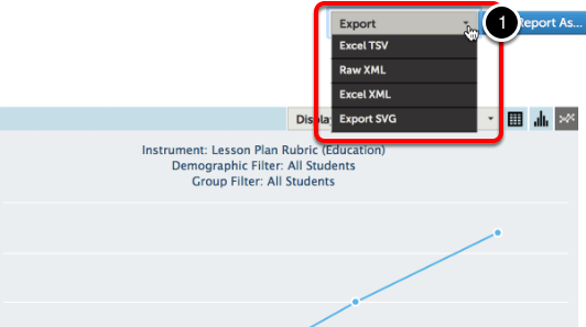 How to Export your Report