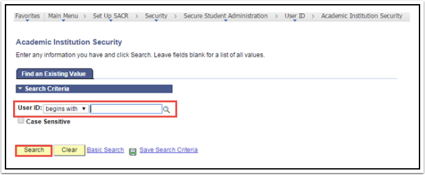 Academic Institution Security page