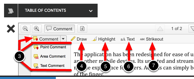 Step 4: Use Comment Options