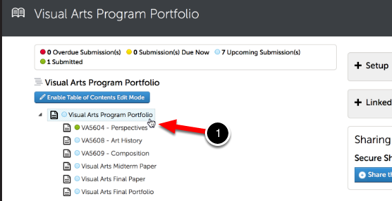 Step 4: Add Content to Your Portfolio
