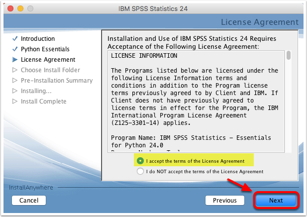 How do i download spss william james college helpdesk there will be many different license agreements you will need to accept you are free to accept all of them with their default values platinumwayz
