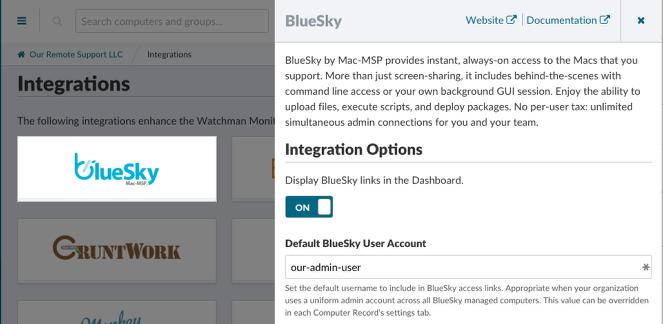 Controlling BlueSky URLs