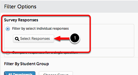 Option #1: Filter by Select Individual Responses
