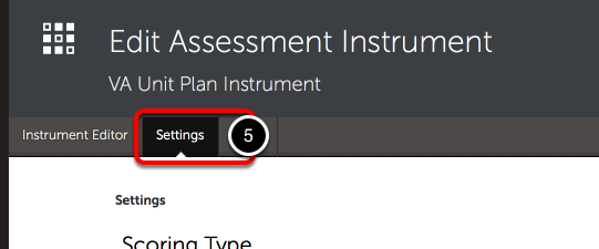 Step 3: Access Instrument Settings