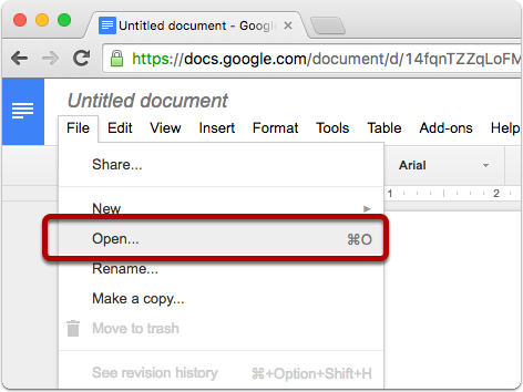 Importing DOCX files into Google Docs | Clarify Desktop | Clarify 2