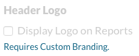 Custom Branding Required