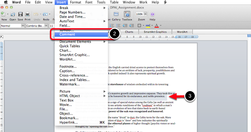 Step 2: Open Document & Locate Content