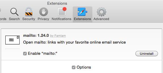 Safari: Extensions