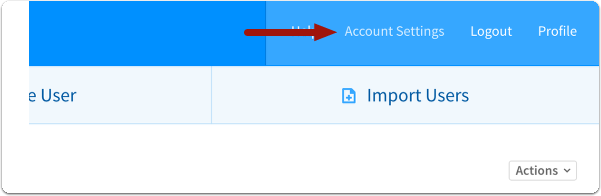 Login and select Account Management > Billing