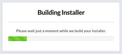 Automatically Building the Installer