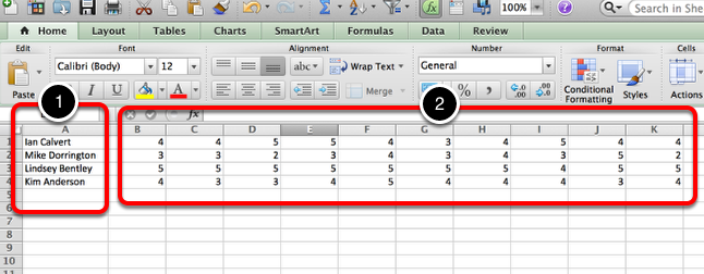 Step 2: Create Excel File