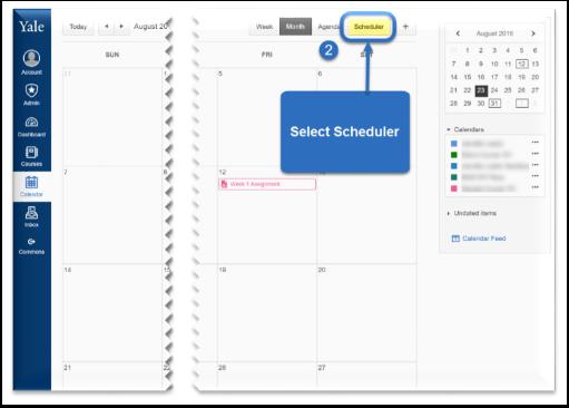 Select Scheduler.