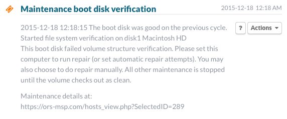 Gruntwork boot disk verification