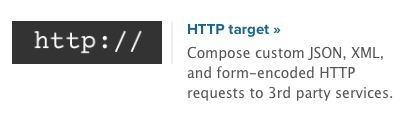 HTTP Target Extension