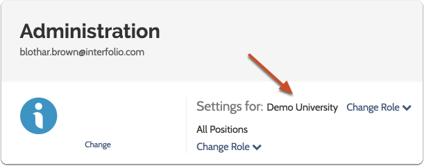 Check to make sure you are editing settings for the correct unit or position