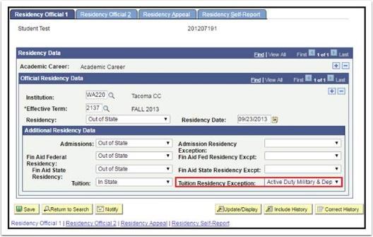 Residency Official 1 tab