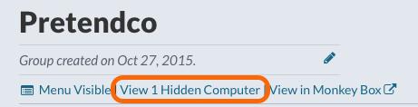 Group: View Hidden Computer