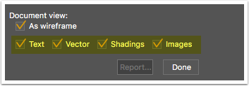 Object type filtering in the Object Inspector