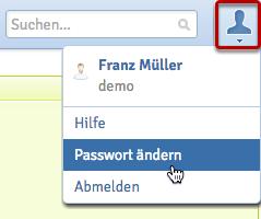 Dein eigenes Passwort ändern