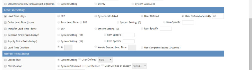 Multiple Settings Edit interface opens