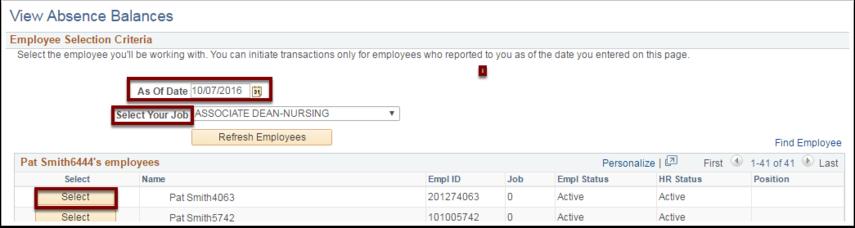 Employee Selection Criteria