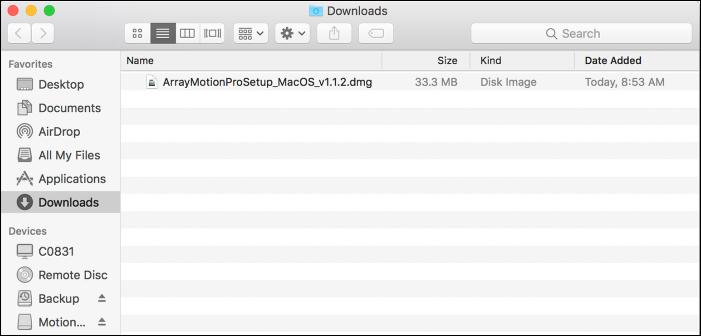 "Find and open the ""CalArtsVPN"" folder"