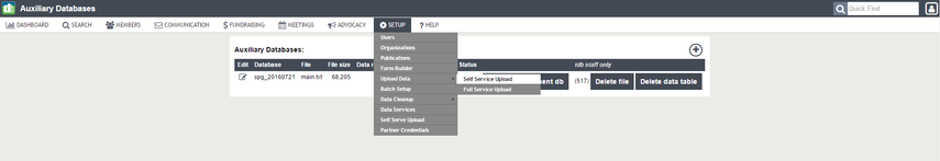 4. Move Data in to Permanent Database