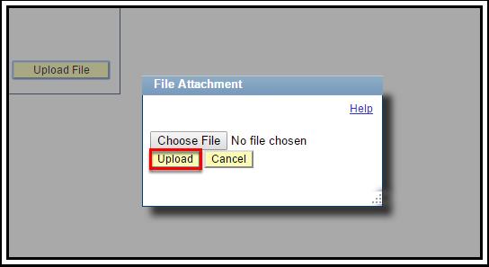File Attachment Pop Up