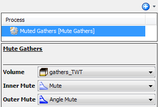 Define mute gather settings