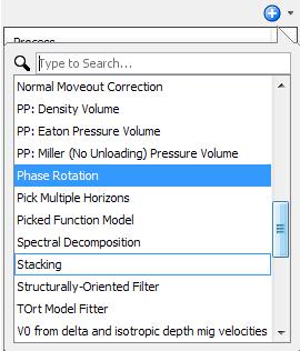 Create a phase rotation process