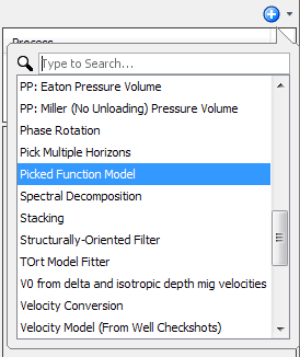 Create a picked function model