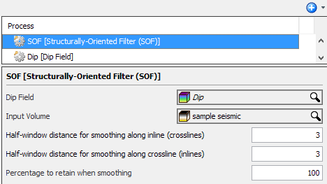 Define SOF settings
