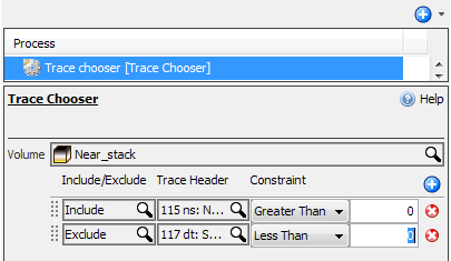 Create a Trace Chooser process