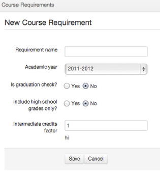 3. Course Requirements