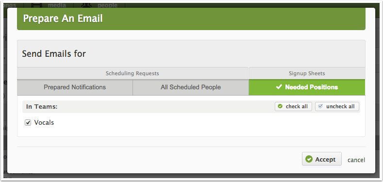 Signup Sheets Planning Center Services – Signup Sheets
