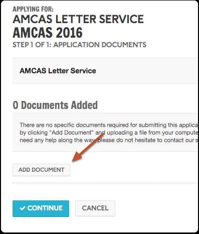 "Click ""Add Document"""