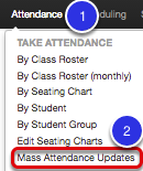 Mass Attendance Updates: Where to Start