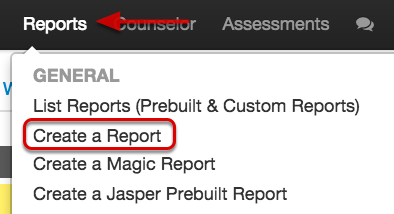 Reports from Scratch